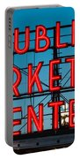 Pike Place Public Market Seattle Portable Battery Charger