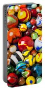 Pile Of Marbles Portable Battery Charger