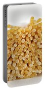 Pile Of Pasta Portable Battery Charger by Julian Eales