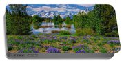 Pilgrim Creek Wildflowers Portable Battery Charger
