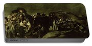 Pilgrimage To San Isidros Fountain, C.18213 Oil On Canvas Portable Battery Charger