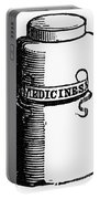 Pill Bottle, 19th Century Portable Battery Charger