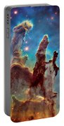 Pillars Of Creation In High Definition - Eagle Nebula Portable Battery Charger