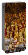 Pindaya Cave With More Than 8000 Buddha Statues Myanmar Portable Battery Charger