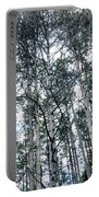 Pine Abstract Portable Battery Charger