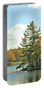 Pine By The Water Portable Battery Charger