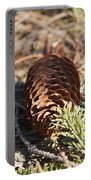 Pine Cone And Small Branch Portable Battery Charger