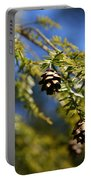 Pine Cone Blues Portable Battery Charger