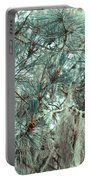 Pine Cones And Lace Lichen Portable Battery Charger