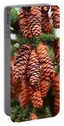 Pine Cones Portable Battery Charger