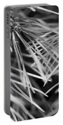 Pine Needle Abstract Portable Battery Charger