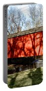 Pine Valley Covered Bridge In Bucks County Pa Portable Battery Charger