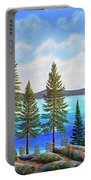 Pine Woods Lake Tahoe Portable Battery Charger