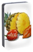 Pineapple Habanero Muy Caliente   Portable Battery Charger
