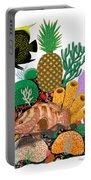Pineapple Reef Portable Battery Charger
