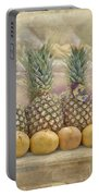 Pineapples And Grapefruit Portable Battery Charger