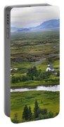 Pingvellir National Park Portable Battery Charger