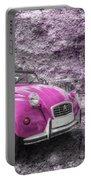 Pink 2cv  Portable Battery Charger