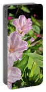 Pink 4 O'clocks Portable Battery Charger