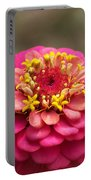Pink Floral  Portable Battery Charger