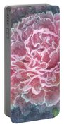Pink Beauty Portable Battery Charger by Barbara Jewell