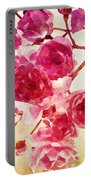 Pink Blossom - Watercolor Edition Portable Battery Charger