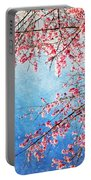 Pink Blossom Portable Battery Charger
