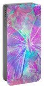 Pink Butterfly By Jan Marvin Portable Battery Charger