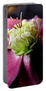 Pink Camellia Flower Portable Battery Charger