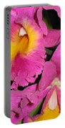 Pink Cattleya Orchid Portable Battery Charger