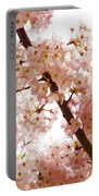 Pink Cherry Blossoms - Impressions Of Spring Portable Battery Charger