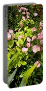 Pink Cosmos Swirl Portable Battery Charger