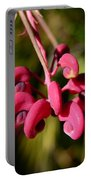 Pink Curls - Flower Macro Portable Battery Charger