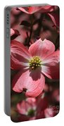 Pink Dogwood At Easter 3 Portable Battery Charger