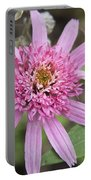 Pink Double Delight Echinacea Portable Battery Charger
