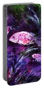 Pink Fish Portable Battery Charger