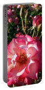 Pink Flaminco Rose 2 Portable Battery Charger