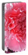 Pink Flower Portable Battery Charger