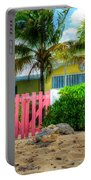 Pink Gate Portable Battery Charger