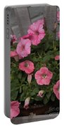 Pink Gathering Portable Battery Charger