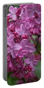 Pink Lilacs Portable Battery Charger