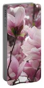 Pink Magnolia Blossoms Washington Dc Portable Battery Charger