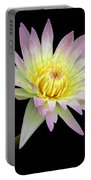 Pink N Yellow Water Lily Too Portable Battery Charger
