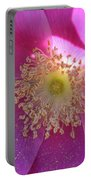 Pink Ocean Wildflower Portable Battery Charger