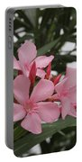 Pink Oleander 4 Portable Battery Charger