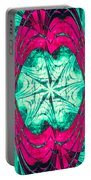 Pink Overlay Portable Battery Charger