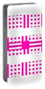 Pink Patterns Portable Battery Charger