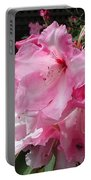 Pink Pearl Rhododendron Portable Battery Charger