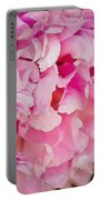 Pink Peony Portable Battery Charger