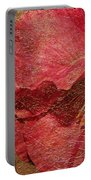 Pink Poppy Gold Leaf Portable Battery Charger